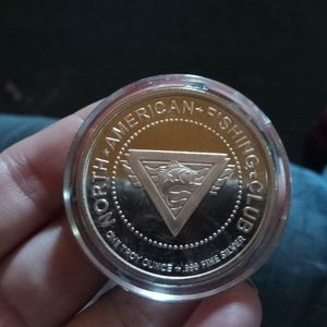 American Fishing Club Coins
